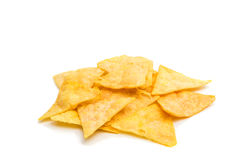 potato chips isolated Royalty Free Stock Image