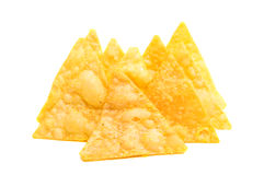 potato chips isolated Royalty Free Stock Images