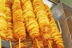 Potato chips on the Korean market Stock Photo