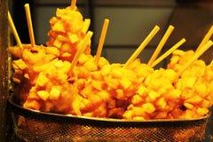 Potato chips on the Korean market Stock Photography