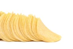 Potato chips. Royalty Free Stock Photo