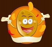 Potato Chips Mascot Royalty Free Stock Image