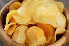 Potato chips with paprika Stock Image