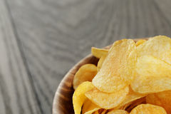 Potato chips with paprika Royalty Free Stock Photography