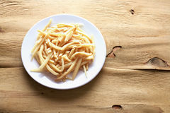 Potato Chips on Plate Stock Images