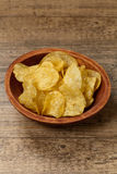 Potato chips. Selective focus. Royalty Free Stock Photos