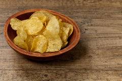 Potato chips. Selective focus. Stock Image