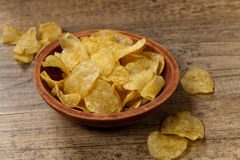 Potato chips. Selective focus. Stock Photography