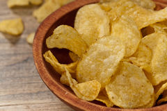 Potato chips. Selective focus. Stock Photo