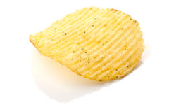 Potato chips with spice Royalty Free Stock Photos