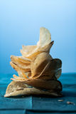 Potato Chips Stack Royalty Free Stock Photo