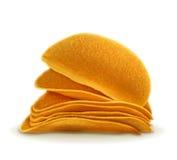 Potato chips vector illustration Royalty Free Stock Photos