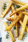 Potato Chips with Vinegar and Thyme Stock Images
