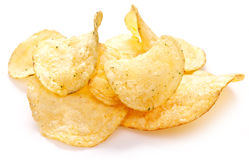 Potato chips. Stock Photography