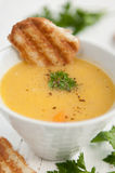Potato Cream Soup Stock Photo
