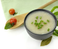 Potato Cream Soup Stock Photo
