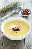 Potato cream soup Stock Photos