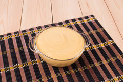 Potato cream soup. Royalty Free Stock Photo