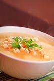 Potato cream soup Royalty Free Stock Photo
