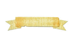 Potato crisp banner Royalty Free Stock Photos