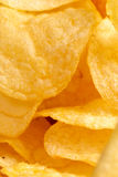Potato crisps Royalty Free Stock Images