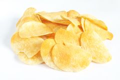 Potato Crisps Royalty Free Stock Photos