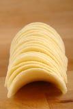 Potato crisps. Pile of natural potato crisps Stock Image