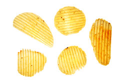 Potato crisps Stock Image