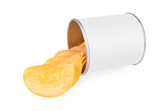 Potato crisps Stock Photos
