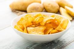 Potato crisps Royalty Free Stock Photo