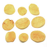 Potato crisps Stock Photography