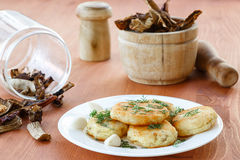 Potato croquettes Royalty Free Stock Image