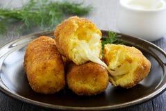 Potato croquettes Royalty Free Stock Photos