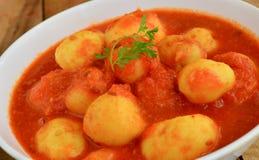 Potato Curry Royalty Free Stock Photos