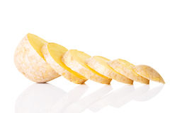 Potato cut Stock Photos