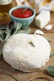 Potato dough for gnocchi Stock Image