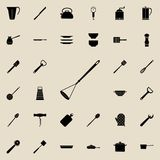Potato drill icon. Detailed set of kitchen tools icons. Premium quality graphic design sign. One of the collection icons for websi. Tes, web design, mobile app Stock Photography