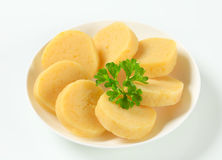 Potato dumplings Stock Photo