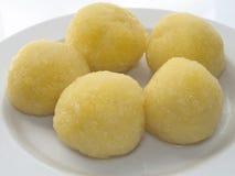 Potato dumplings Royalty Free Stock Image