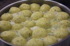 Potato dumplings Stock Photos