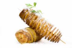 Potato espiral Stock Image