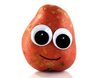 Potato with eyes Stock Photos