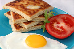 Potato Farls Royalty Free Stock Photography