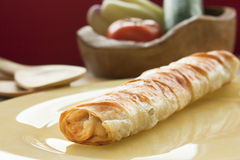 Potato filo pastry Royalty Free Stock Images