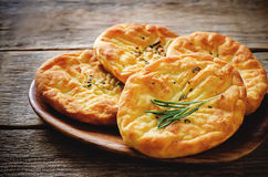 Potato flatbread with rosemary Royalty Free Stock Image