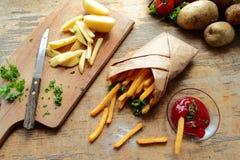 Potato fries Stock Image