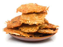 Potato fritter 1 Stock Photography