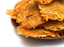 Potato fritter 3 Royalty Free Stock Images
