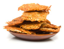 Potato fritter Stock Images