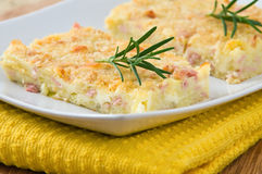 Potato gateau. Stock Image